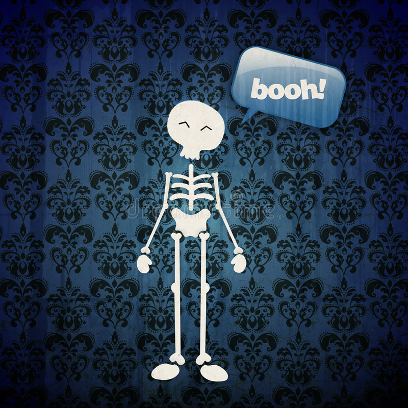 Free Happy Halloween Skull Royalty Free Stock Photography - 6498667
