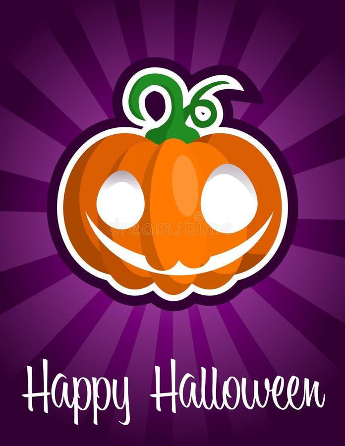 Download Happy Halloween Smiling Pumpkin Stock Vector - Illustration of design, face: 25823199