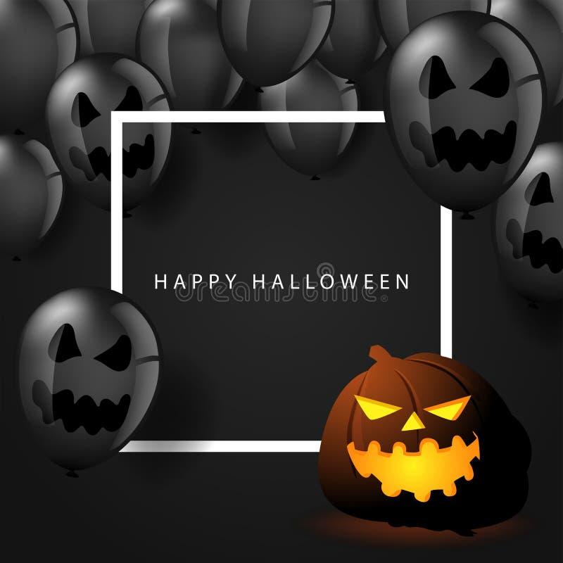 Happy Halloween symbol or banner stock photo