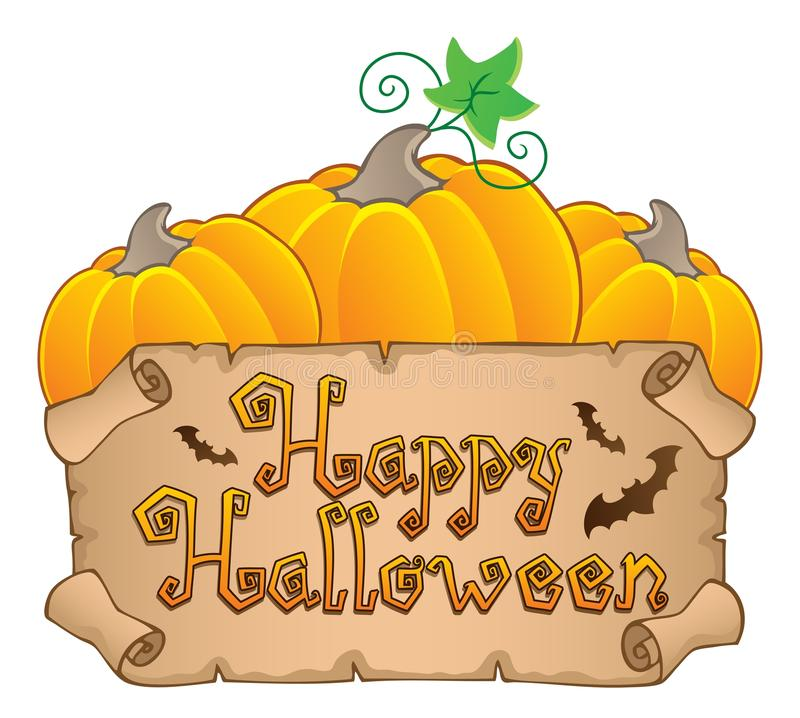 Download Happy Halloween Topic Image Stock Vector - Image: 25801833