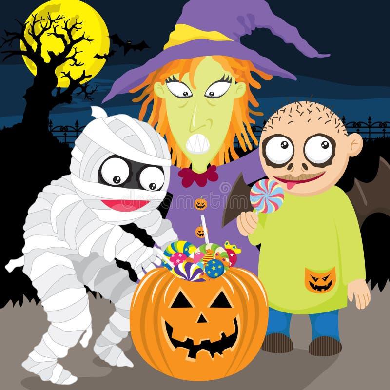 Download Happy Halloween Trick Or Treat Stock Vector - Image: 33528516