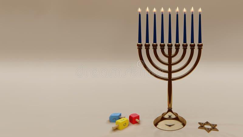 Happy Hanukkah royaltyfri foto