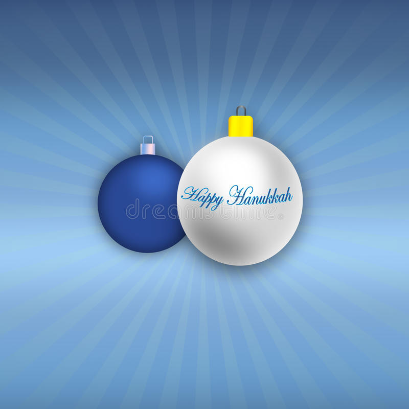 Happy Hanukkah Illustration Royalty Free Stock Photo