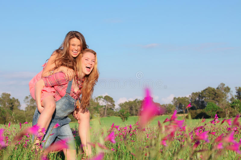 Happy healthy kids stock images
