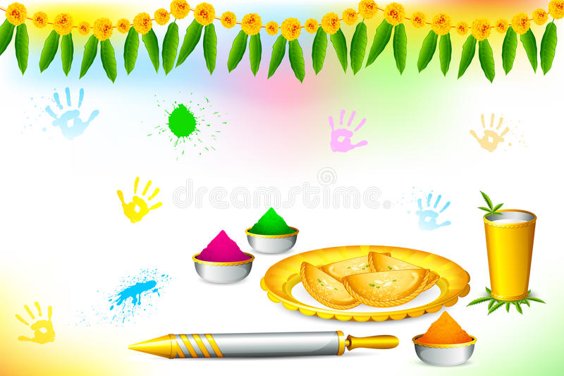 Download Happy Holi Wallpaper Stock Vector Illustration Of Artistic
