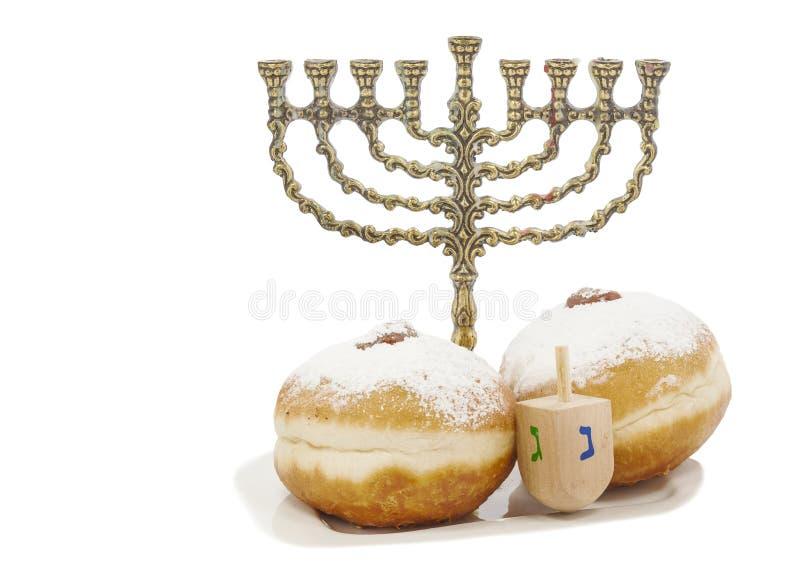 Happy holiday of Hanukkah royalty free stock photography