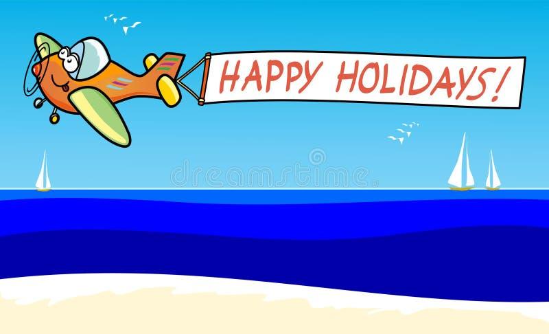 Happy holidays! royalty free stock photography