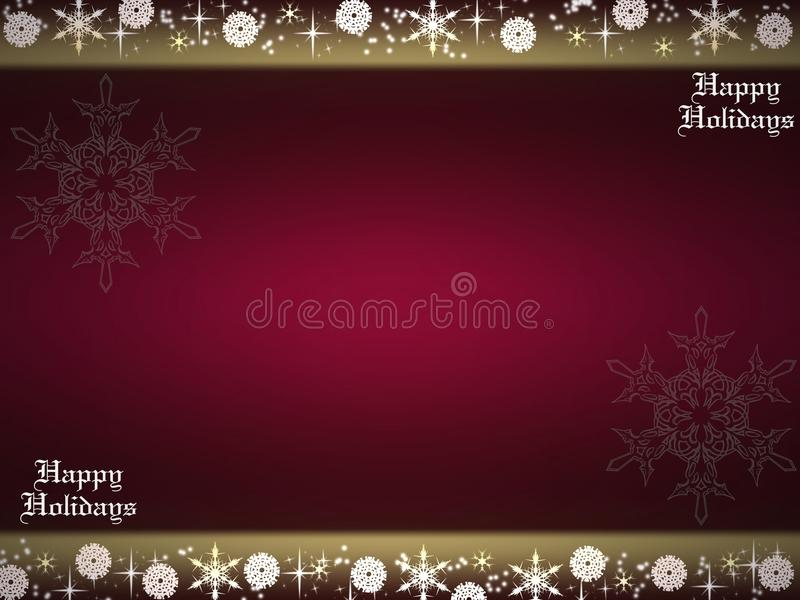 Happy Holidays Royalty Free Stock Photos