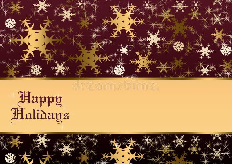 Download Happy holidays stock illustration. Illustration of cream - 16991492