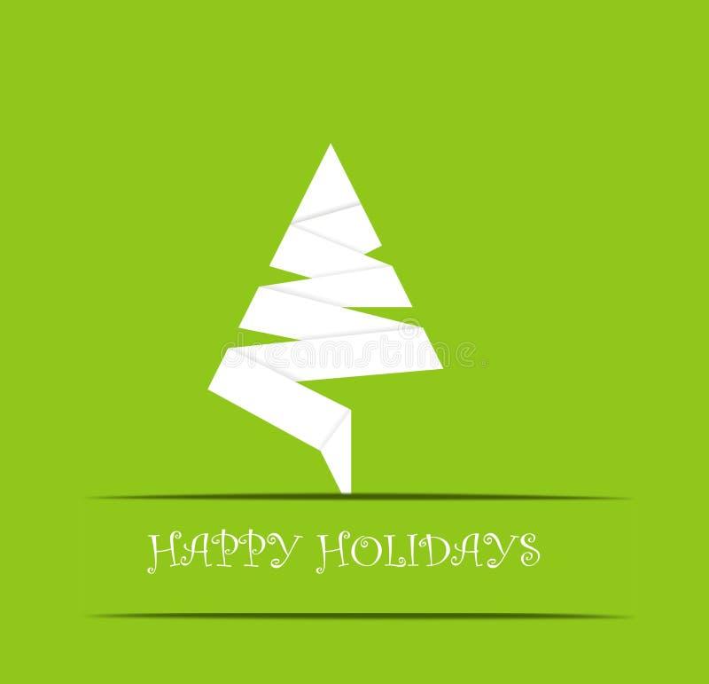 Happy Holidays stock illustration