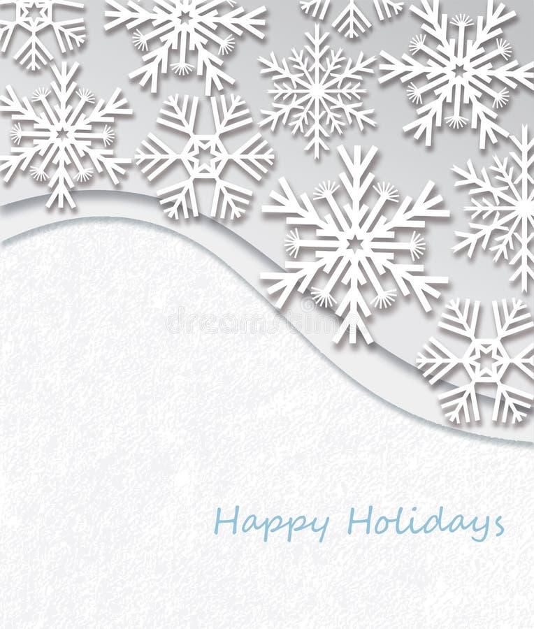 Happy Holidays royalty free illustration