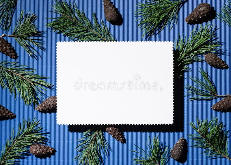 Happy holidays background with copy space for text stock photography