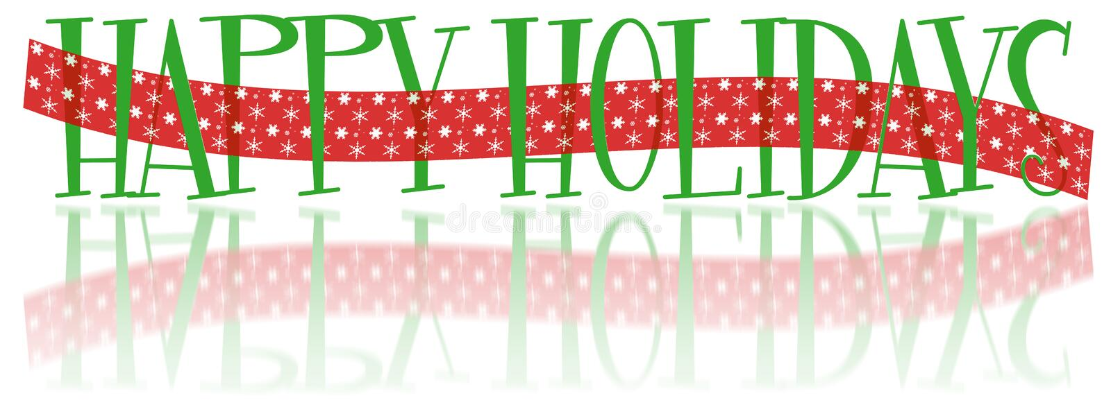 happy holidays banner stock illustration illustration of banner rh dreamstime com Winter Holiday Clip Art Banners Holiday Lights Banner Clip Art
