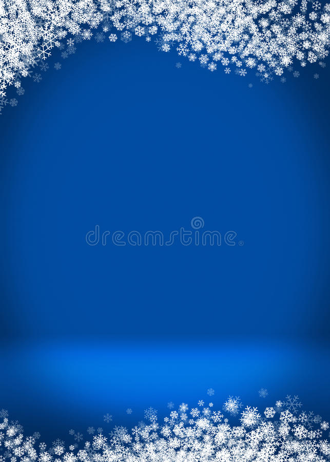 Happy Holidays Blank Winter Background royalty free stock images