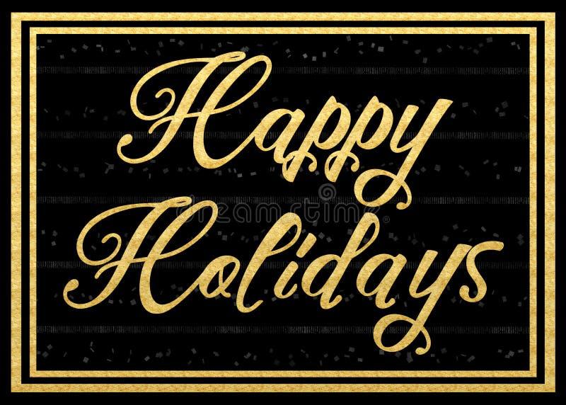 Happy Holidays royalty free stock photography