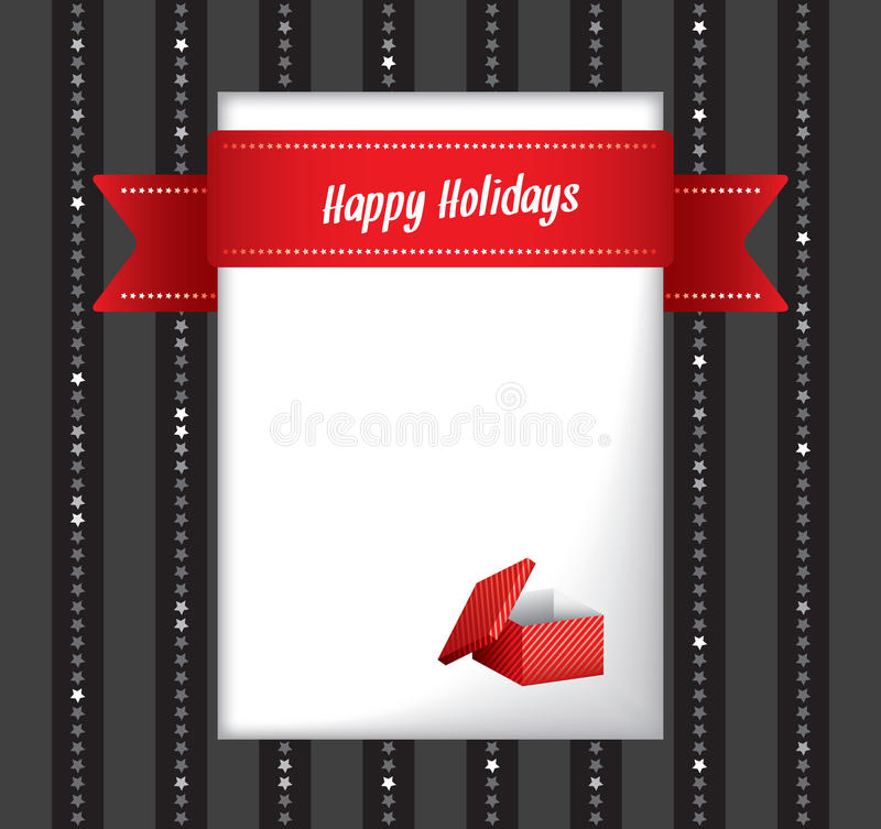 Download Happy Holidays Greeting Card Royalty Free Stock Photography - Image: 28330107