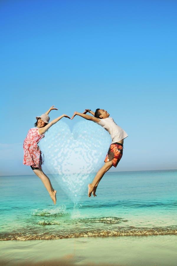 Happy Honeymoon Royalty Free Stock Photo