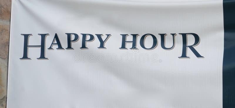 Happy hour al cocktail Antivari immagine stock libera da diritti