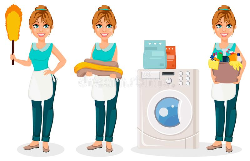 Happy Housewife Stock Illustrations 4 479 Happy Housewife Stock Illustrations Vectors Clipart Dreamstime