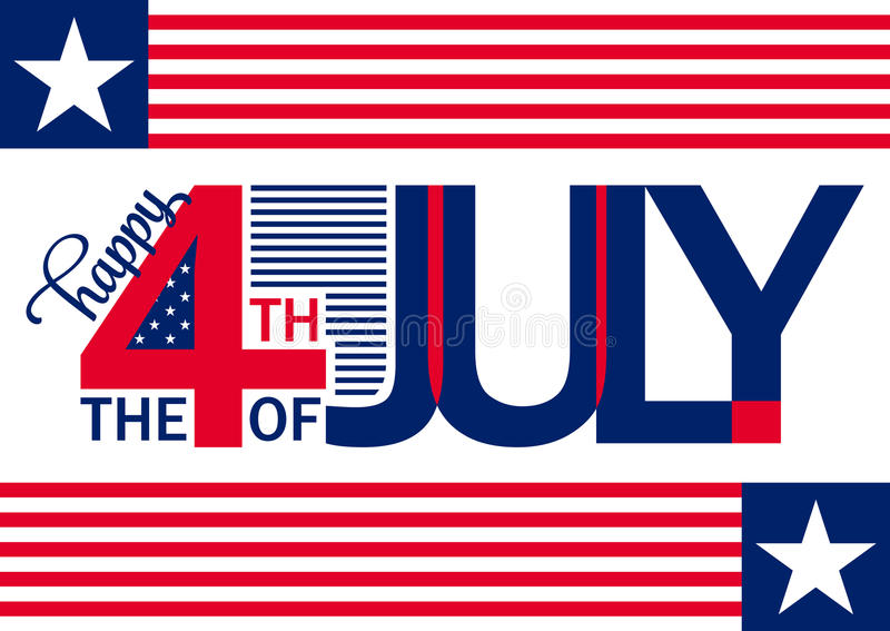 Happy independence day horizontal backgrond july 4th for What is celebrated on the 4th of july