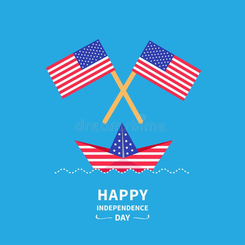 Happy independence day United states of America vector illustration