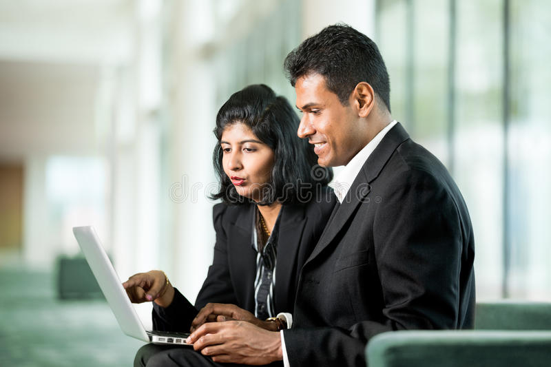 Download Happy Indian Business Team Working Together. Royalty Free Stock Image - Image: 25958906