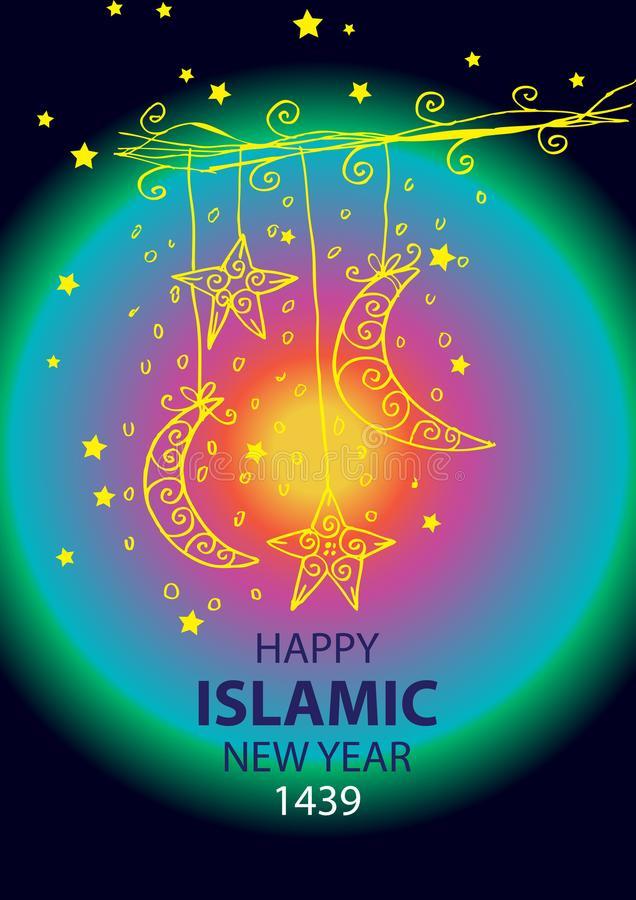 Happy islamic new year 1439 stock illustration illustration of download happy islamic new year 1439 stock illustration illustration of grunge holiday 99947797 m4hsunfo
