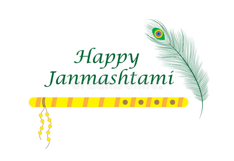 Happy janmashtami indian feast of the birth of krishna greeting download happy janmashtami indian feast of the birth of krishna greeting card janmashtami m4hsunfo