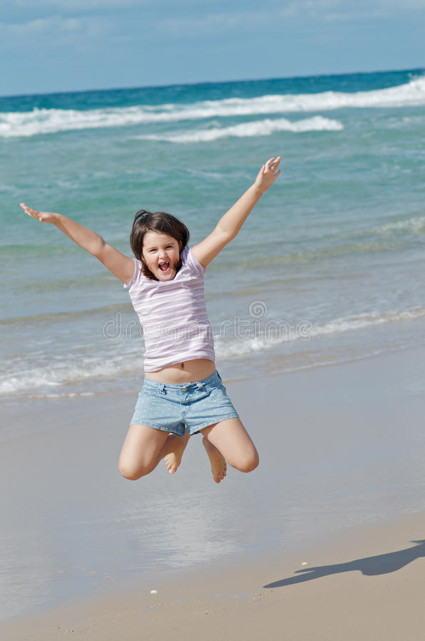 Download Happy jumping stock image. Image of jumping, summer, freedom - 20061397