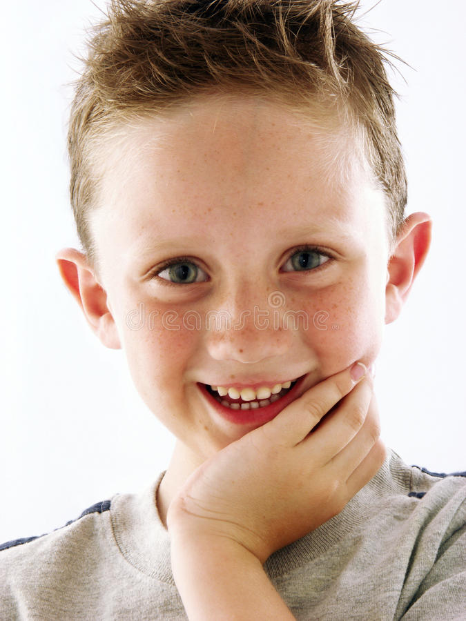 Download Happy kid. stock image. Image of emotion, little, expression - 28532753