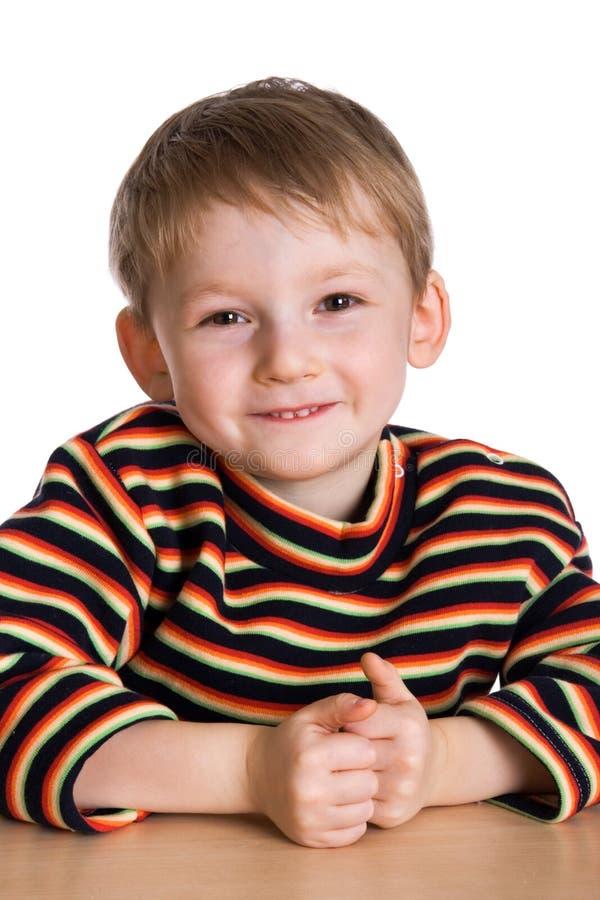 Download Happy kid stock image. Image of striped, sweater, preschool - 4489617