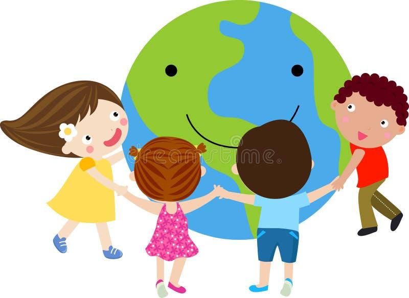 Download Happy kids stock vector. Image of children, future, colors - 15196217