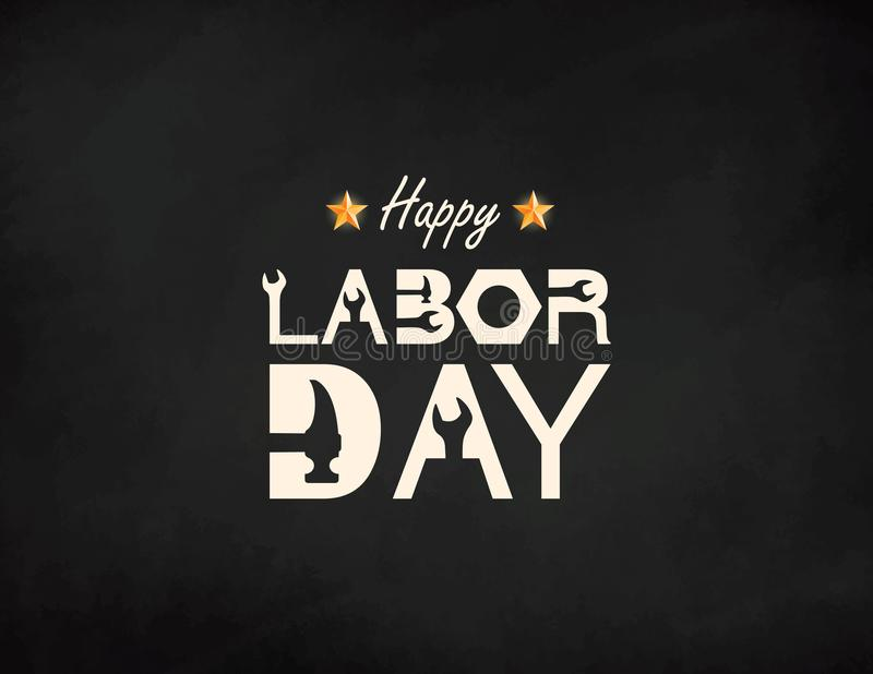 Happy Labor Day banner. Design template. Vector illustration. vector illustration