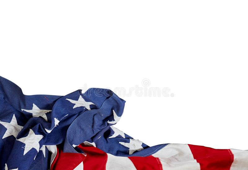 Happy Labor Day. USA flag. American holiday stock photography