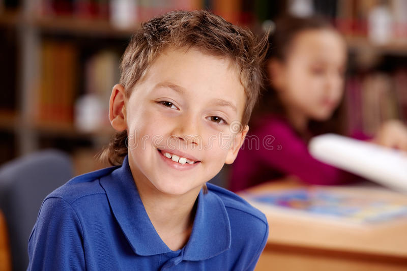 Download Happy lad stock photo. Image of human, learn, caucasian - 17246296