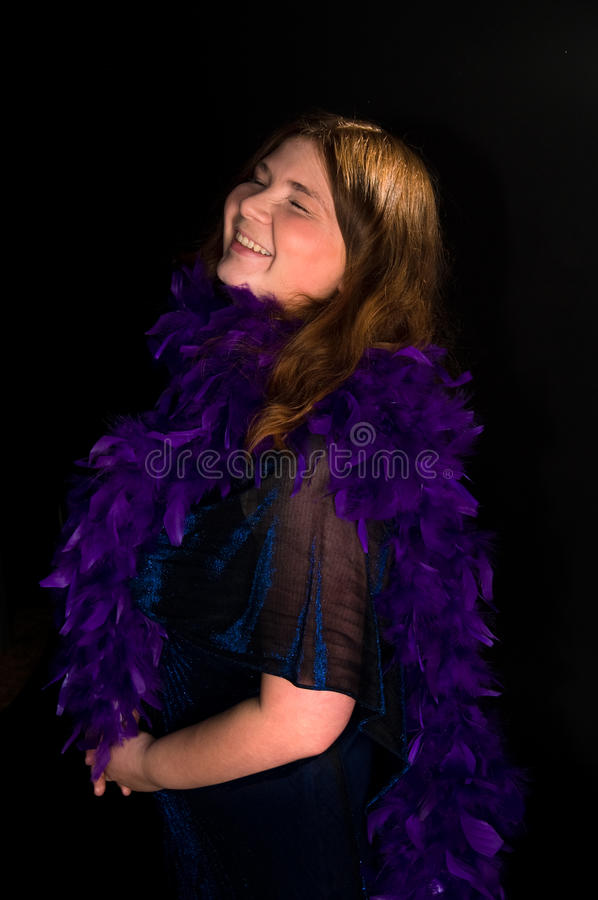 Download Happy laugh woman stock photo. Image of beauty, posing - 11415324