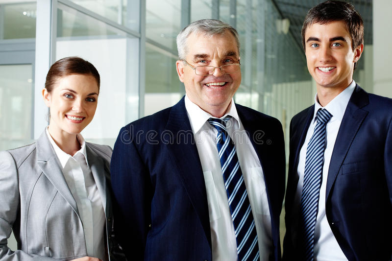 Download Happy leaders stock image. Image of male, looking, formalwear - 26817095