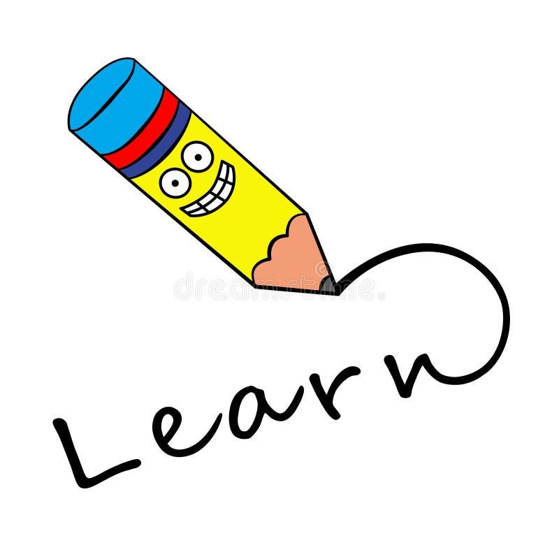 Happy learning stock illustration. Illustration of ...