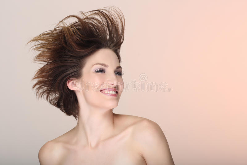 Happy Lifestyle Image of a Beautiful Woman royalty free stock photos