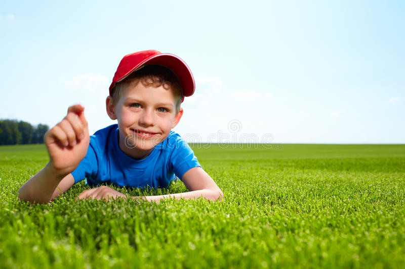 Download Happy little boy stock image. Image of cheerful, good - 19766449
