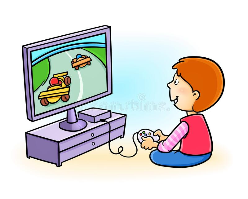 Kid Playing Video Game Stock Illustrations 653 Kid Playing Video Game Stock Illustrations Vectors Clipart Dreamstime