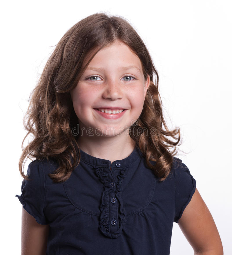 Free Happy Little Girl Stock Photography - 16959272
