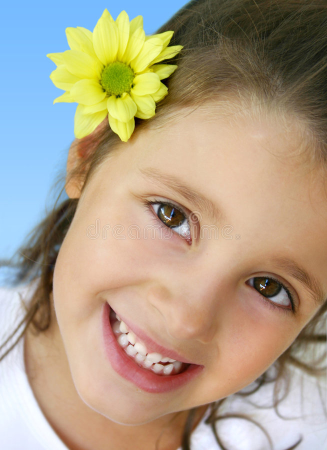Free Happy Little Girl Royalty Free Stock Image - 226226