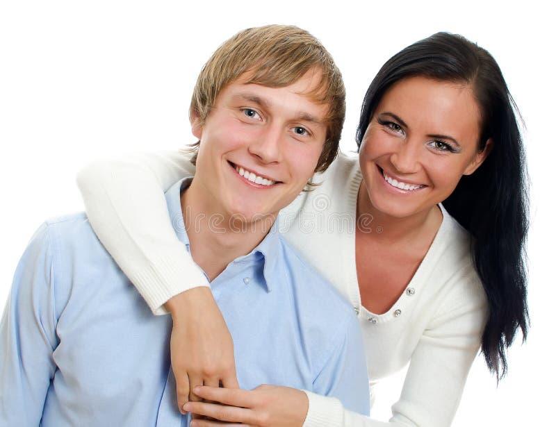 Happy loving couple. stock photos