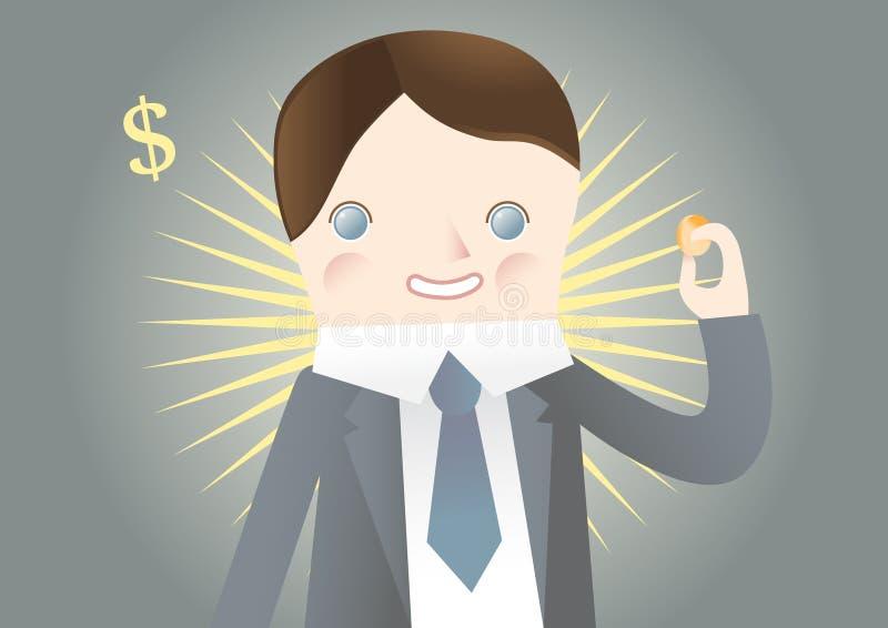 Download Happy man stock vector. Image of caucasian, cheerful - 24596500