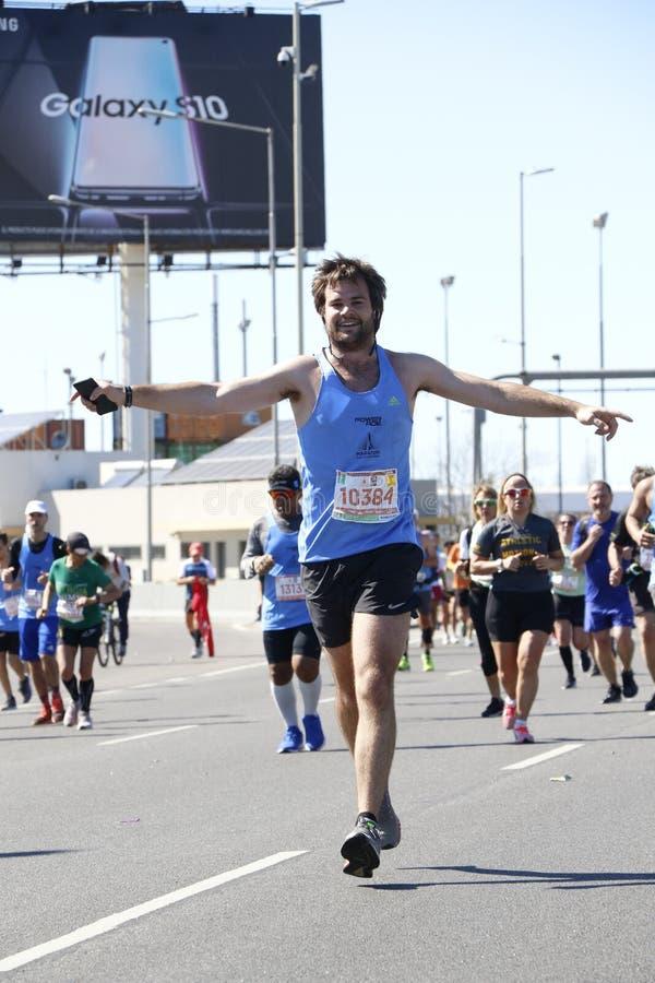 Marathon Buenos Aires royalty free stock photography