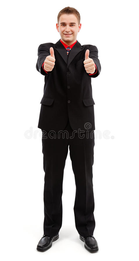 Download Happy Man Showing Double Thumbs Up Stock Photo - Image: 16734526