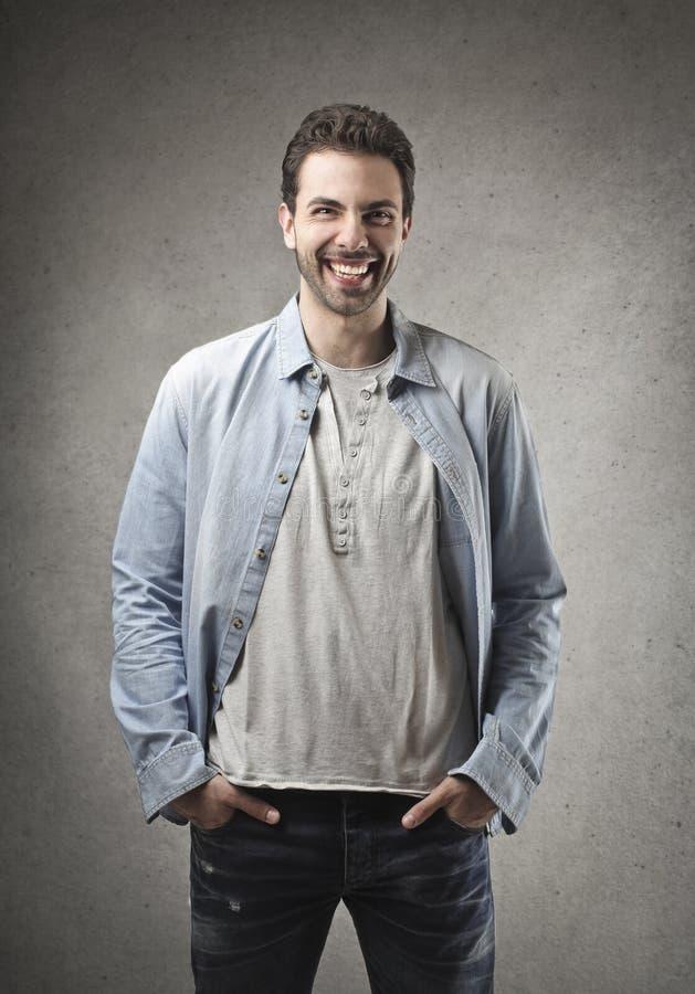 Download Happy man stock image. Image of portrait, fashion, caucasian - 31413237
