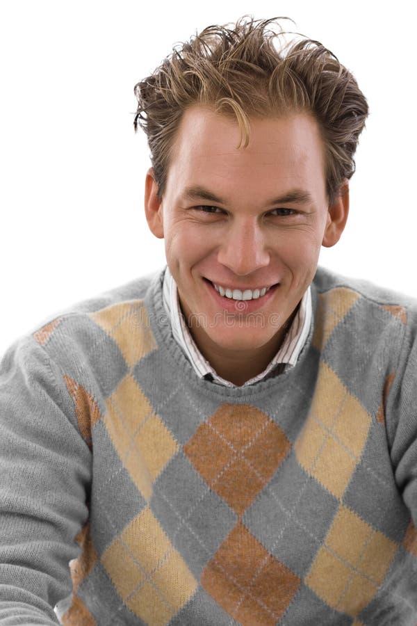 happy man smiling young στοκ φωτογραφίες