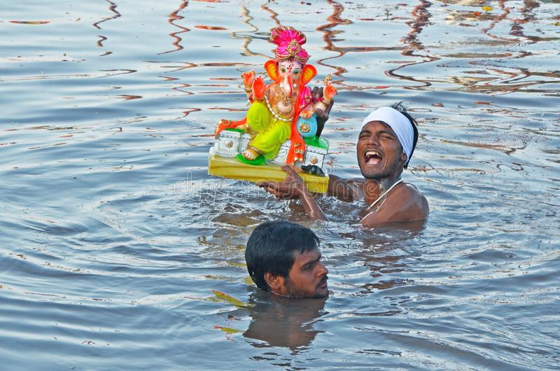 god Ganesha stock images